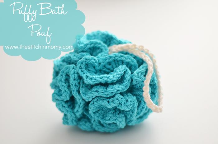 Puffy Bath Pouf Free Pattern The Stitchin Mommy