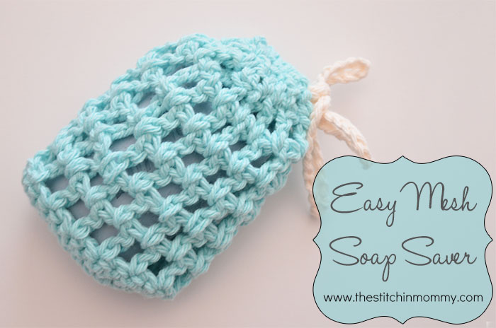Free Crochet Pattern Soap Bag : Easy Mesh Soap Saver - The Stitchin Mommy