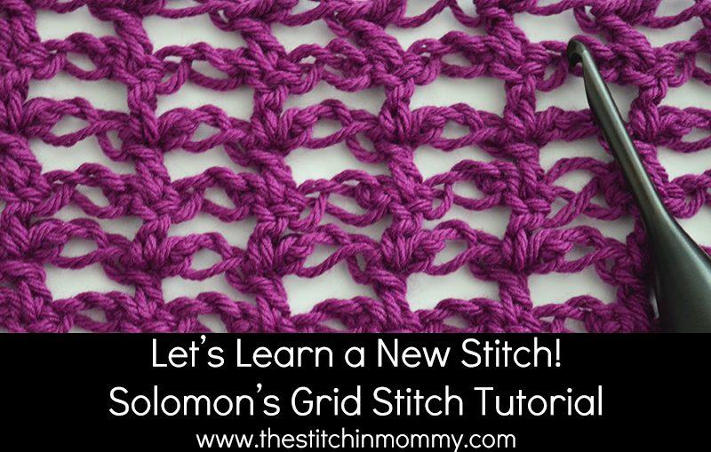 Solomon's Grid Stitch Tutorial