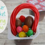 Easter Basket Pudding Cups with Super Snack Pack