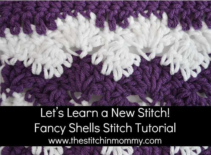 Fancy Shells Tutorial And Afghan Square The Stitchin Mommy