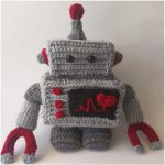 Crochet Robot Plush – Free Pattern