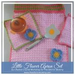 Little Flower Apron Set – Free Pattern