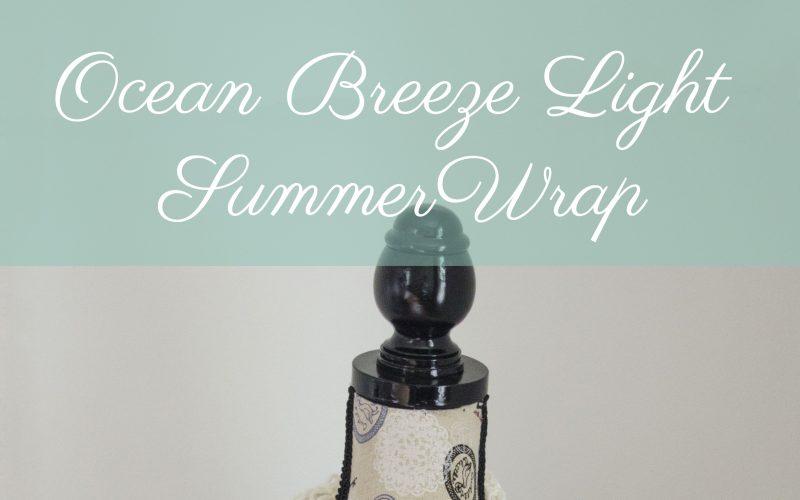 Ocean Breeze Light Summer Wrap – Guest Post on Stitch & Unwind