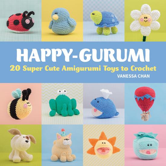 Happy-gurumi - 20 Super Cute Amigurumi Toys to Crochet - Book Review | www.thestitchinmommy.com
