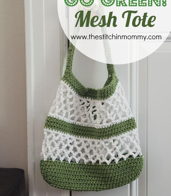 Go Green! Mesh Tote Pattern