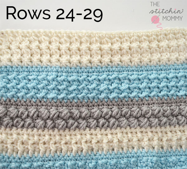 Crochet With Us Fall Poncho CAL Part 6   www.thestitchinmommy.com