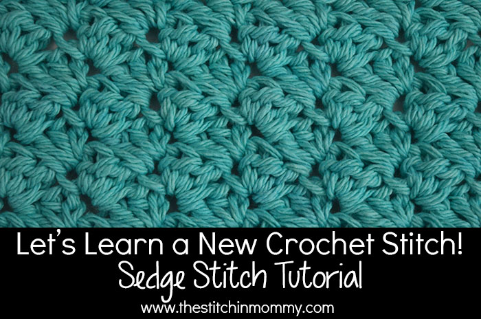 Crochet K Stitch : Lets Learn a New Crochet Stitch! - Sedge Stitch Tutorial www ...