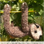 Crochet Sloth Plush – Free Pattern
