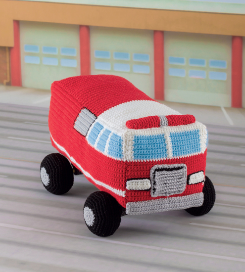 Honk! Beep! Vroom! - Crochet Toys That Move by Cathy Smith, published by Martingale - Book Review | www.thestitchinmommy.com