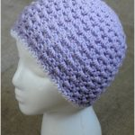 V Stitch Adult Hat (Night Out Series) – Guest Post by Cream of the Crop Crochet