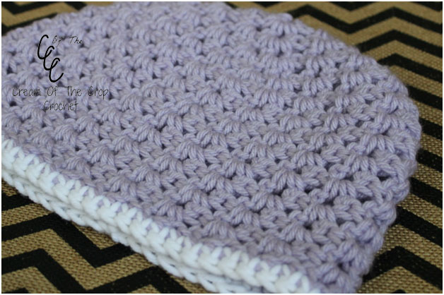 Crochet V Stitch Hat : Stitch Hat (Night Out Series) - Guest Post by Cream of the Crop ...