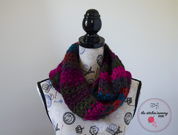Autumn In The Tropics Infinity Scarf Free Pattern The Stitchin Mommy