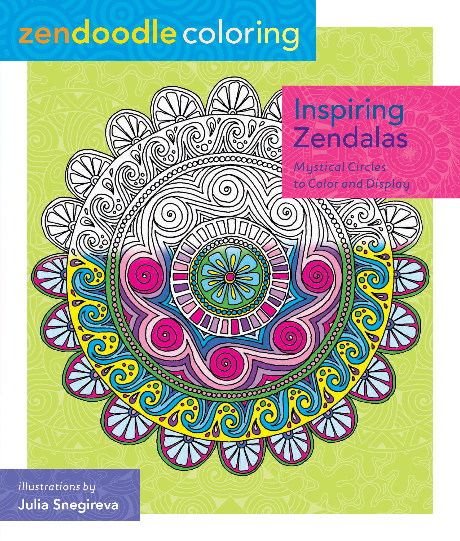 Zendoodle Coloring Inspiring Zendalas Amp Enchanting