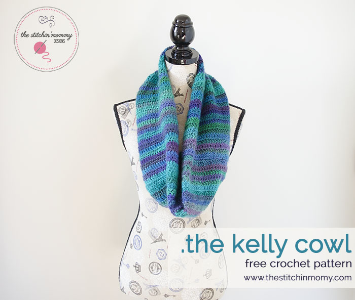 The Kelly Cowl Free Pattern The Stitchin Mommy