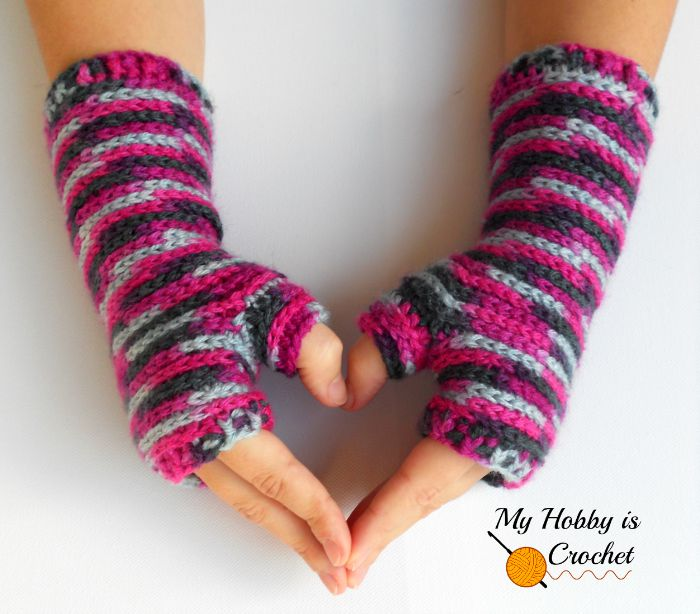 Free Crochet Patterns For Fingerless Gloves And Mitts : 12 Free Crochet Patterns for Fingerless Gloves - The ...