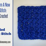 Modified Sedge Stitch Tutorial and Dishcloth Pattern