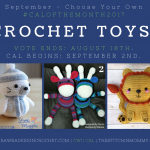 Choose Your Own CAL Adventure 2017 – September Crochet Toys