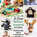 21 Free Safari-Inspired Crochet Patterns