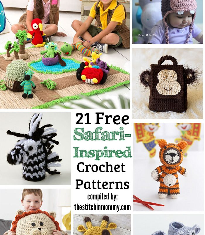 21 Free Safari-Inspired Crochet Patterns