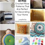 22 Free Crochet Pillow Patterns That Are Perfect for Decorating Your Home