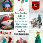 22 Fun, Festive, & Free Crochet Patterns for Christmas Decorations