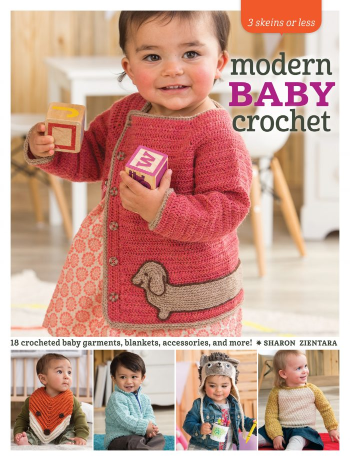 Modern Baby Crochet by Sharon Zientara - Book Review and Pattern Excerpt | www.thestitchinmommy.com