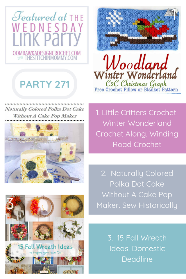The Wednesday Link Party 271 Featuring Little Critters Crochet C2c