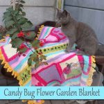 Candy Bug Flower Garden Blanket – Free Crochet Pattern