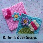 Butterfly and Joy Squares – Free Crochet Pattern