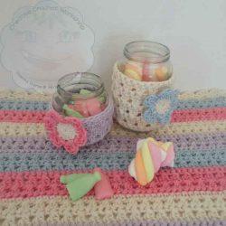 Sweet Jar Cozies – Free Crochet Pattern