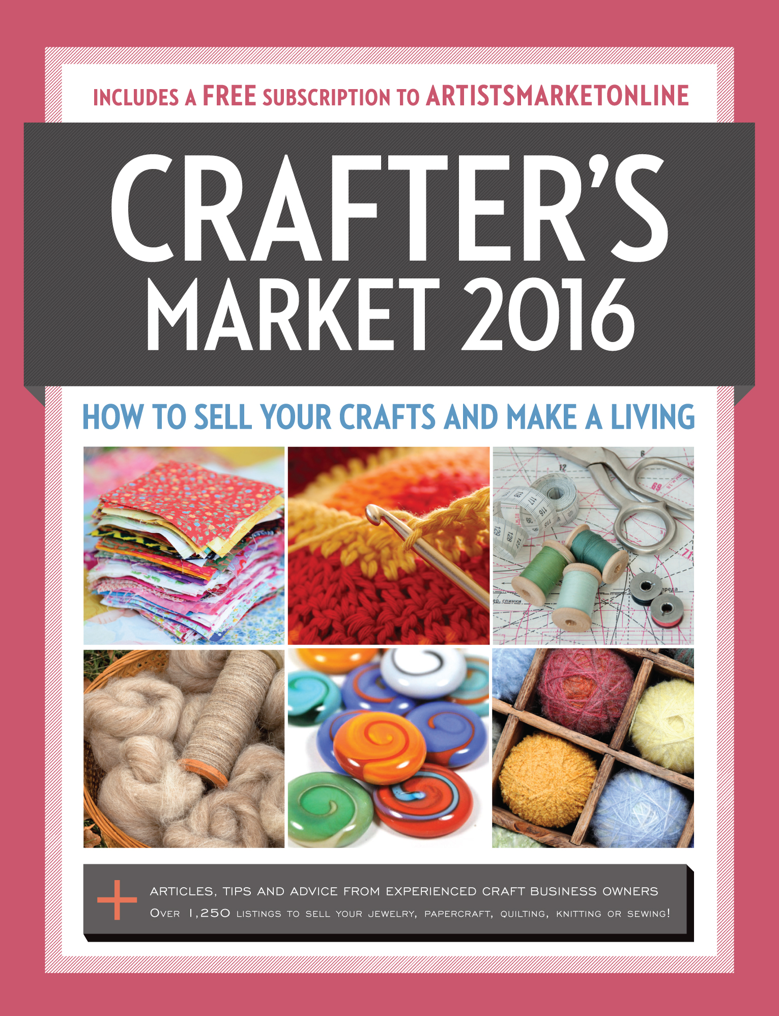 Crafter's Market 2016 edited by Kerry Bogert - Book Review | www.thestitchinmommy.com
