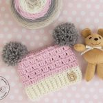Dusty Rose Sack Hat – Free Crochet Pattern in Several Sizes