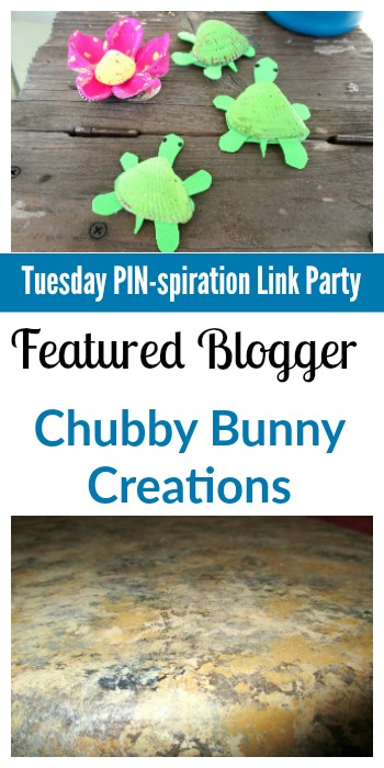 Tuesday PIN-spiration Link Party Featured Blogger - Chubby Bunny Creations   www.thestitchinmommy.com