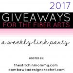 2017 Giveaways for the Fiber Arts – January Giveaways Week 5