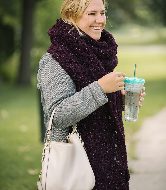 Super Scarves Are This Season's Hottest New Trend!