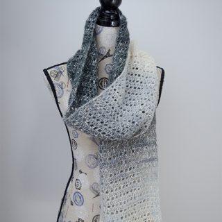 Grey Skies Scarf – Free Crochet Pattern