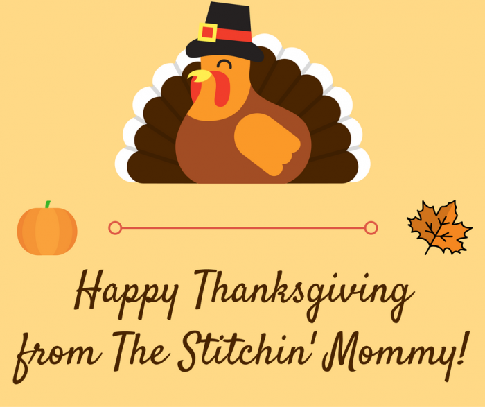 Happy Thanksgiving from The Stitchin' Mommy - Thanksgiving Pattern Sale | www.thestitchinmommy.com