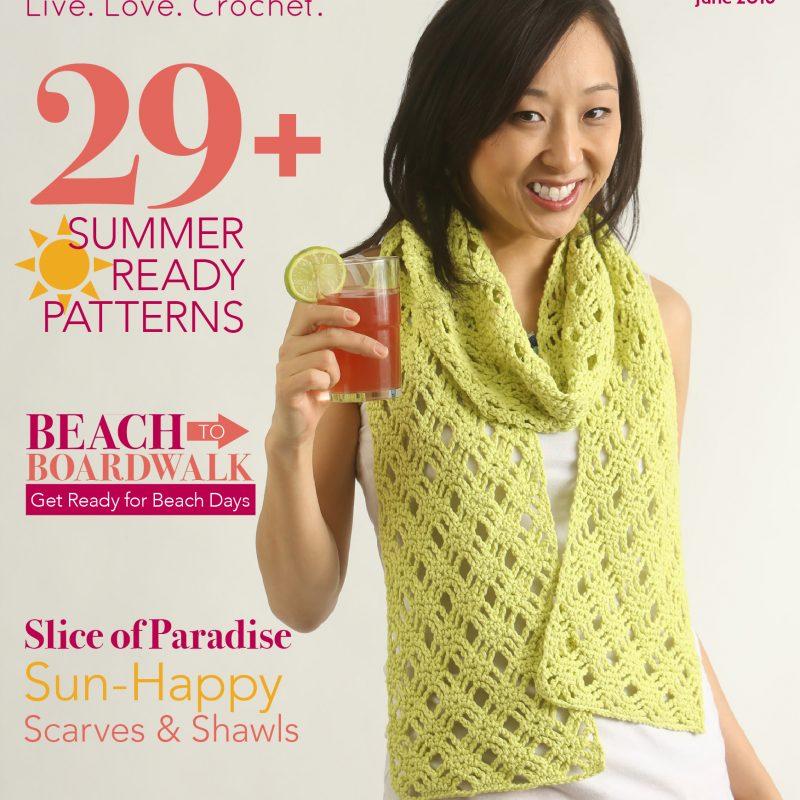 I Like Crochet Magazine – June 2016 Issue