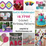 Let's Celebrate! 18 Free Crochet Birthday Patterns