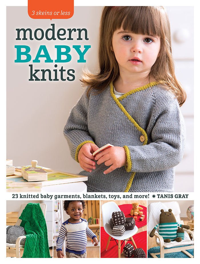 Modern Baby Knits by Tanis Gray - Book Review and Pattern Excerpt   www.thestitchinmommy.com
