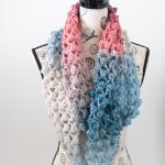 Moonlight Stroll Infinity Scarf – Free Crochet Pattern