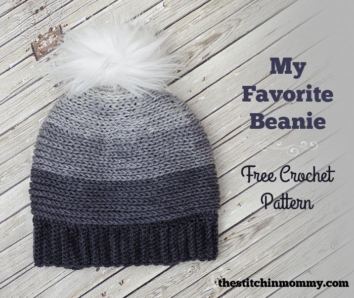 My Favorite Beanie – Free Crochet Pattern