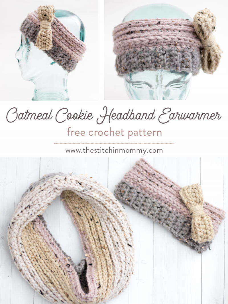 Oatmeal cookie headband earwarmer free crochet pattern the oatmeal cookie headband earwarmer free crochet pattern the stitchin mommy bankloansurffo Choice Image