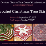Choose Your Own CAL Adventure 2017 – October Christmas Tree Skirt