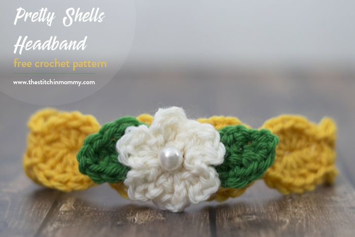 Pretty shells headband free crochet pattern the stitchin mommy mightylinksfo