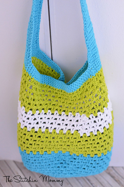 18 Free Crochet Boho, Bohemian, and Groovy Inspired Bag ...