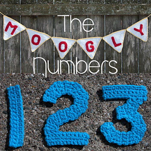 Crocheting Numbers : 14. The Moogly Crochet Numbers by Tamara Kelly