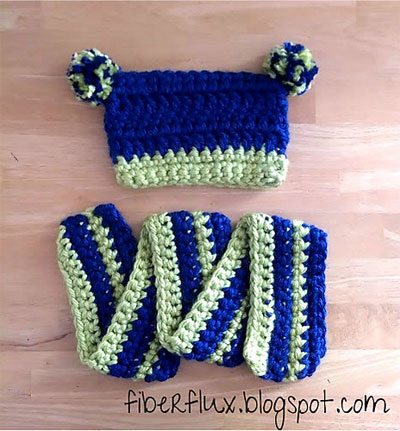 Free Crochet Patterns For Hat And Scarf Set : 15 Free Frog-Inspired Crochet Patterns - The Stitchin Mommy