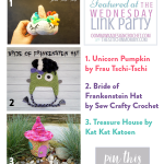 The Wednesday Link Party 214 Featuring Fall and Halloween Projects!